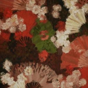 Vorhangstoff Blumen Abanico 02 Lizzo