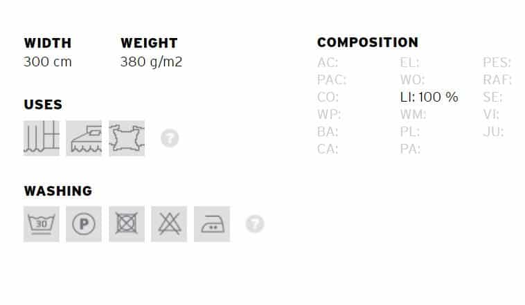 Vorhangstoff Uni Rustic 04 Yutes Info