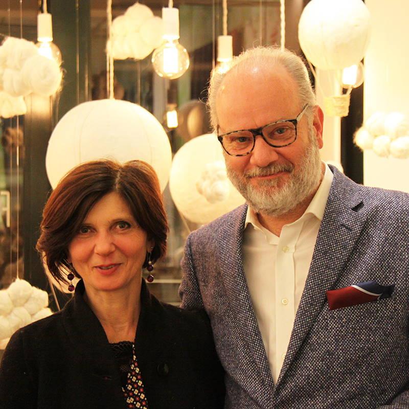 Filippo Uecher und Frau