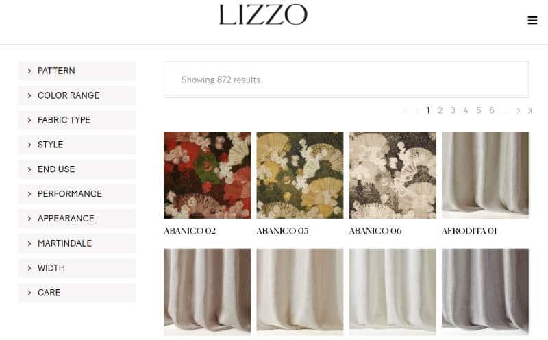 Homepage Dekostoffe kaufen von Lizzo Artikelsuche