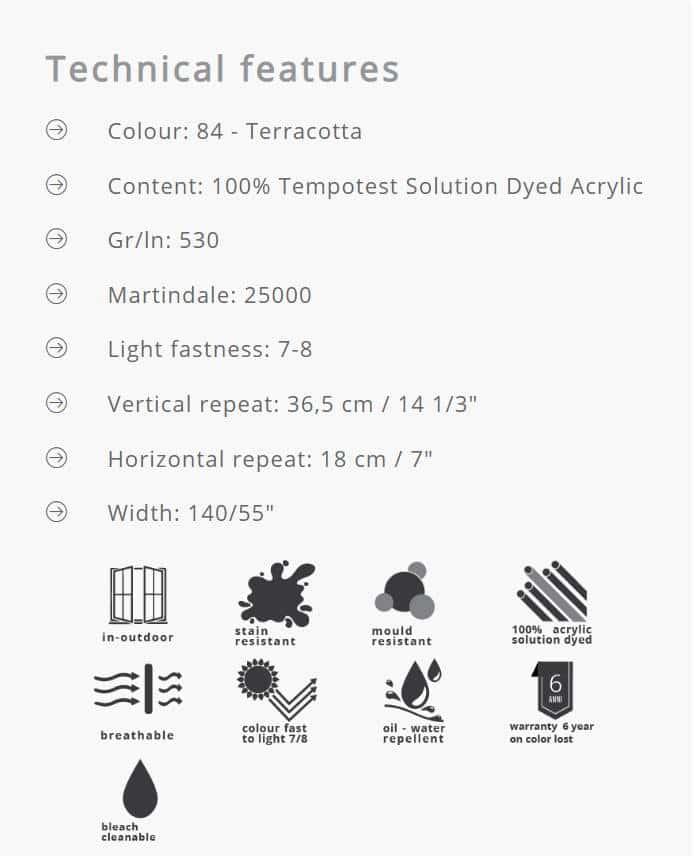 Outdoorstoffe MariaFlora - Jao 84 Info