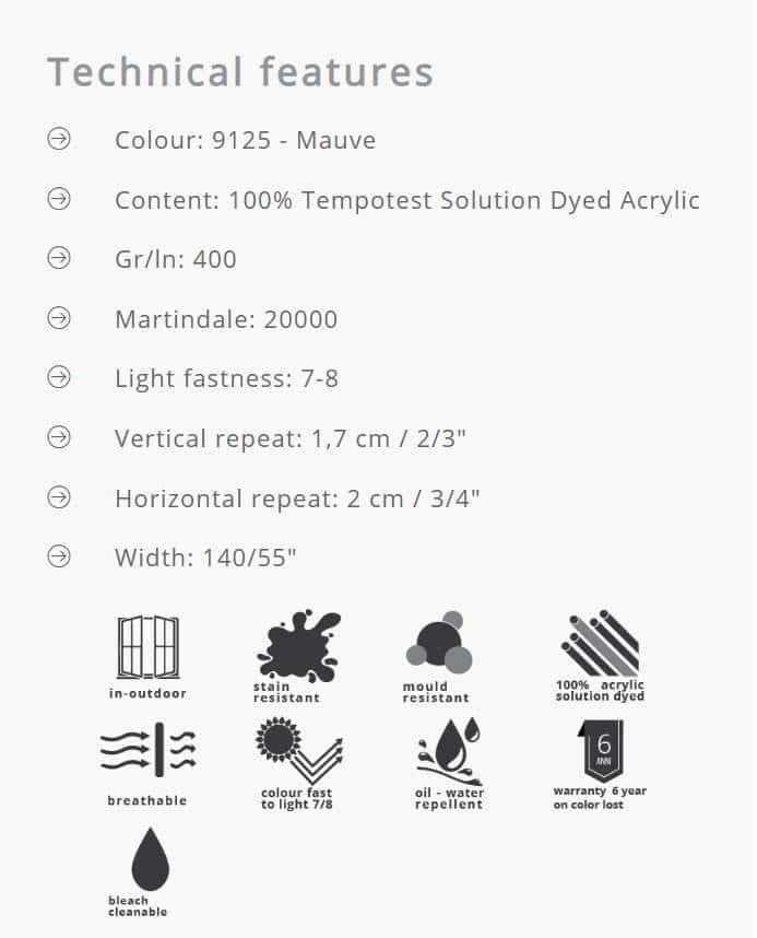 Outdoorstoffe MariaFlora - Segesta 9125 Info