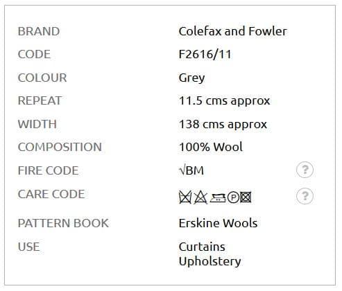 Bezugsstoff-Kariert-Lanark-Plaid-Colefax-Fowler info