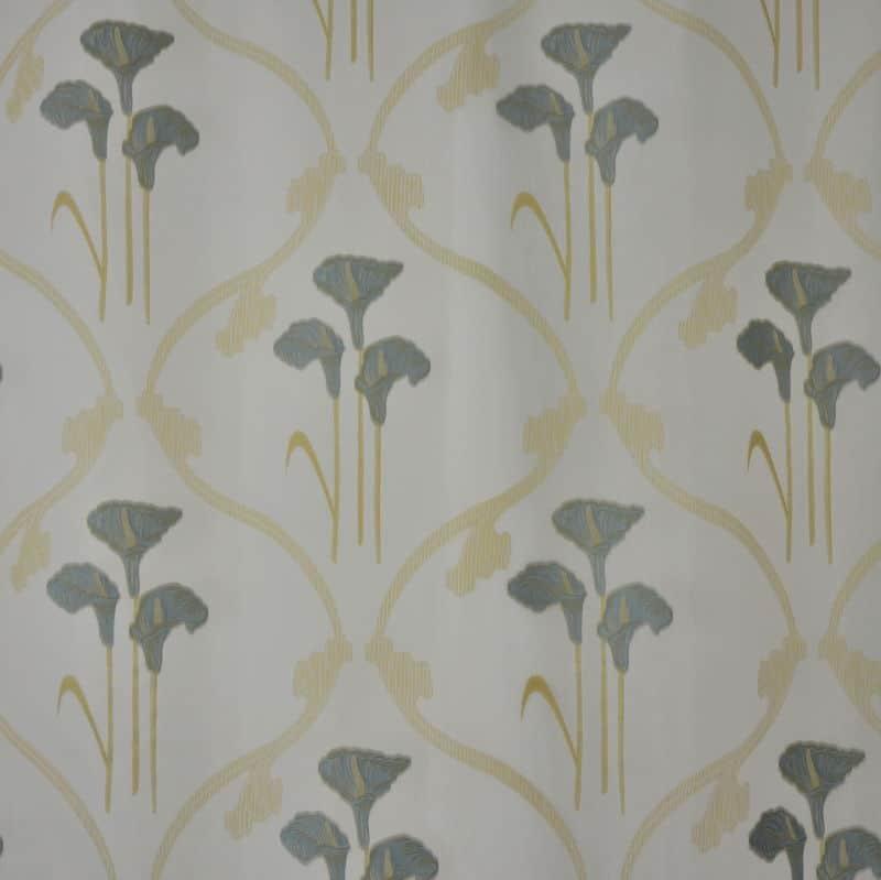 Gardinenstoff Blumenmuster Intex Aida 15 multi