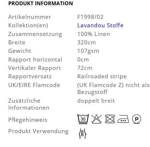 Gardinenstoff-Streifen-Lavandou-Designers-Guild Info