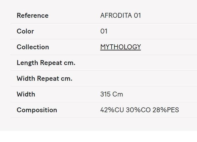 Gardinenstoff Uni Lizzo Afrodita 01 Info