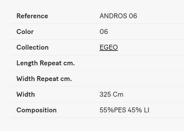 Gardinenstoff Uni Lizzo Andros 06 Info
