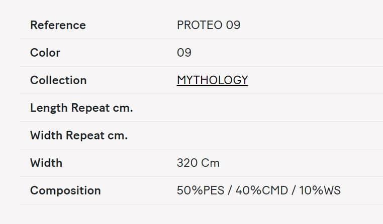 Gardinenstoff Uni Lizzo Proteo 09 Info