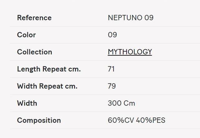 Gardinenstoff gemustert Lizzo Neptuno 09 Info