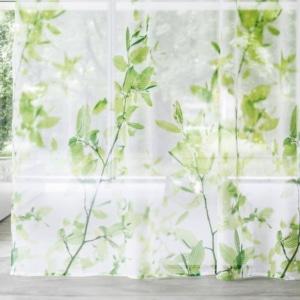 Gardinenstoffe Blumenmuster Creation Baumann Herba