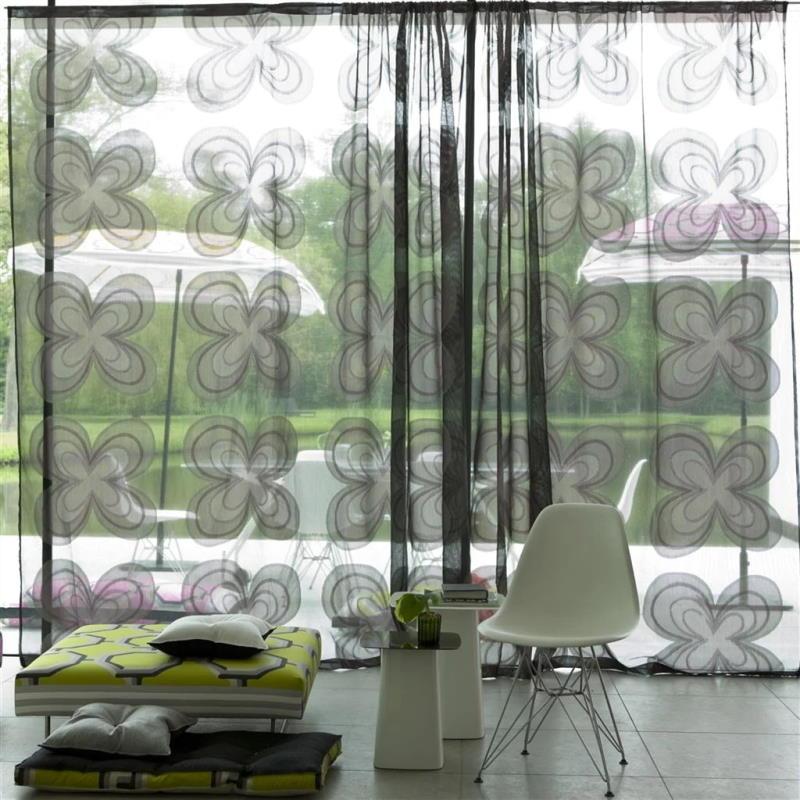 Gardinenstoff Blumenmuster Designers Guild Parika F1667-04