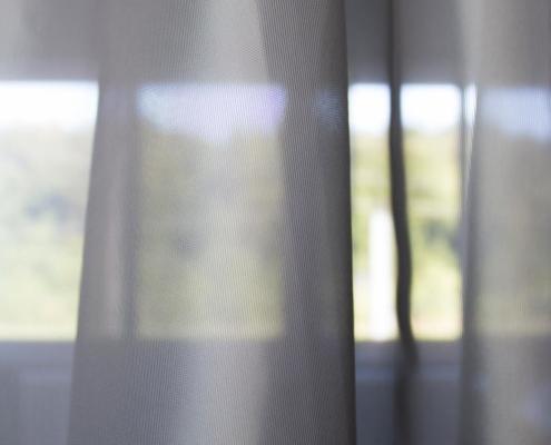 Gardinenstoffe Wärmeschutz Blendschutz STEEL BASE Creation Baumann 0100195
