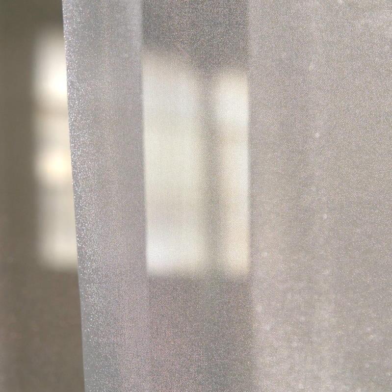 Gardinenstoffe Wärmeschutz Blendschutz STEEL PLAIN Creation Baumann 0100185