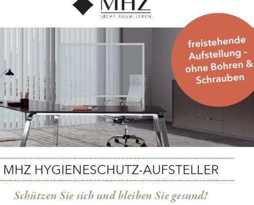 Hygieneschutz Niesschutz Hustenschutz Spuckschutz MHZ Beitrag
