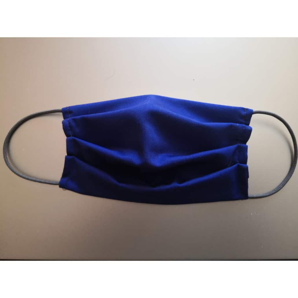 Mund Nasenmaske blau 2