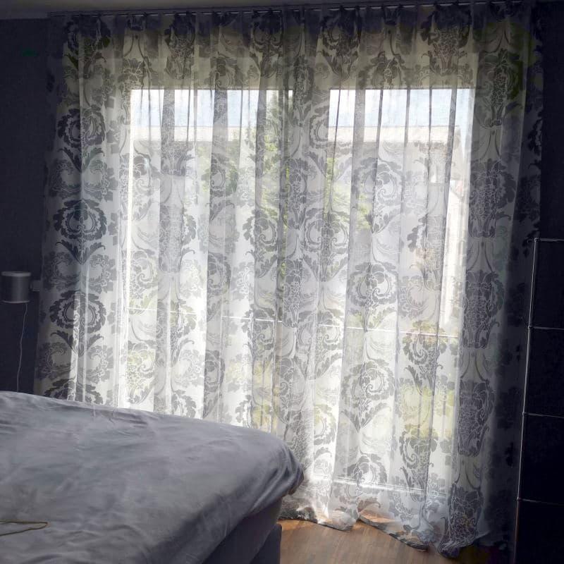 Edle Gardinen für moderne Wohnung Schlafzimmer Designers Guild Byzantium
