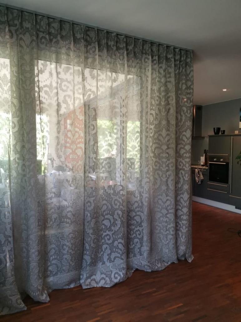 Edle Gardinen für moderne Wohnung Wohnzimmer 2
