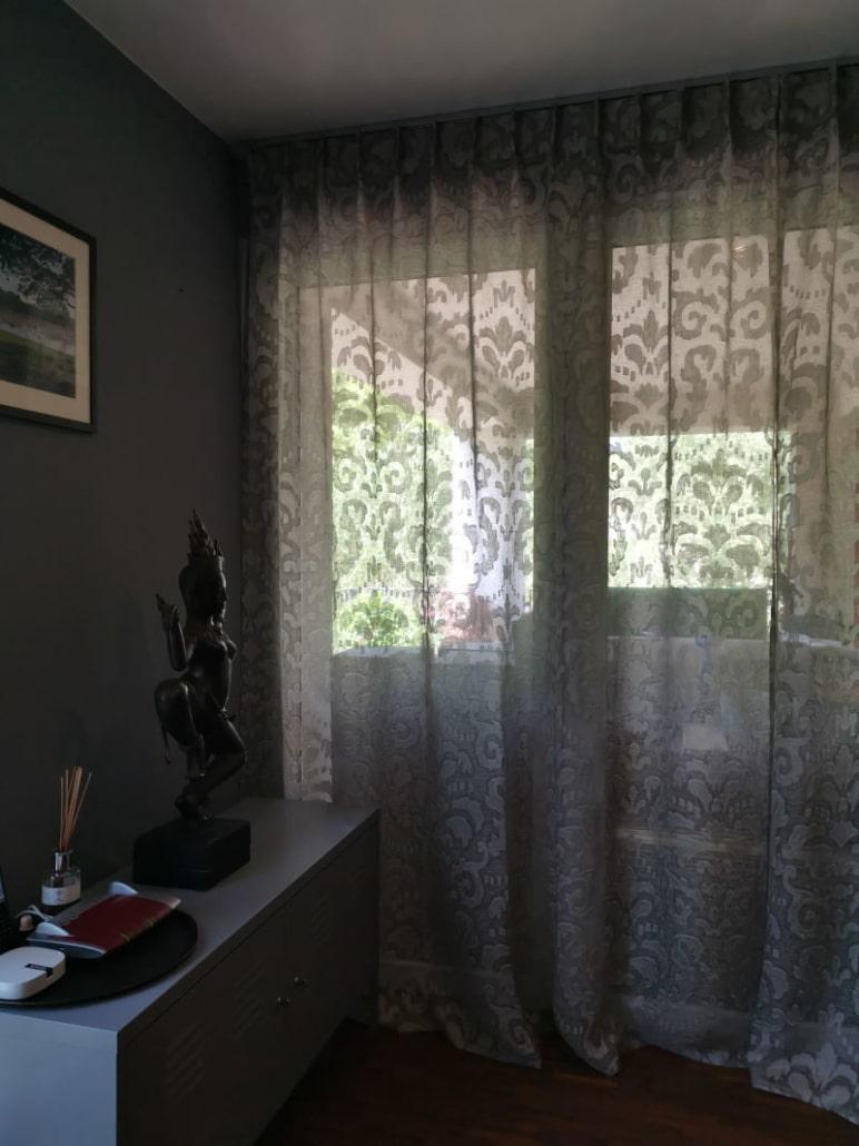 Edle Gardinen für moderne Wohnung Wohnzimmer