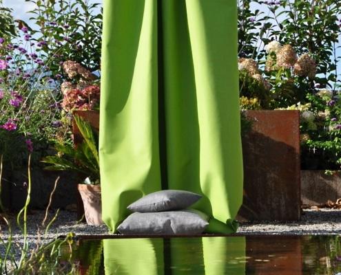 Vorhangsstoff Outdoor Cuba 0100560-0012 Creation Baumann