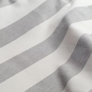 Bezugsstoff-Outdoor Nizza Stripe-Nya-Nordiska grau