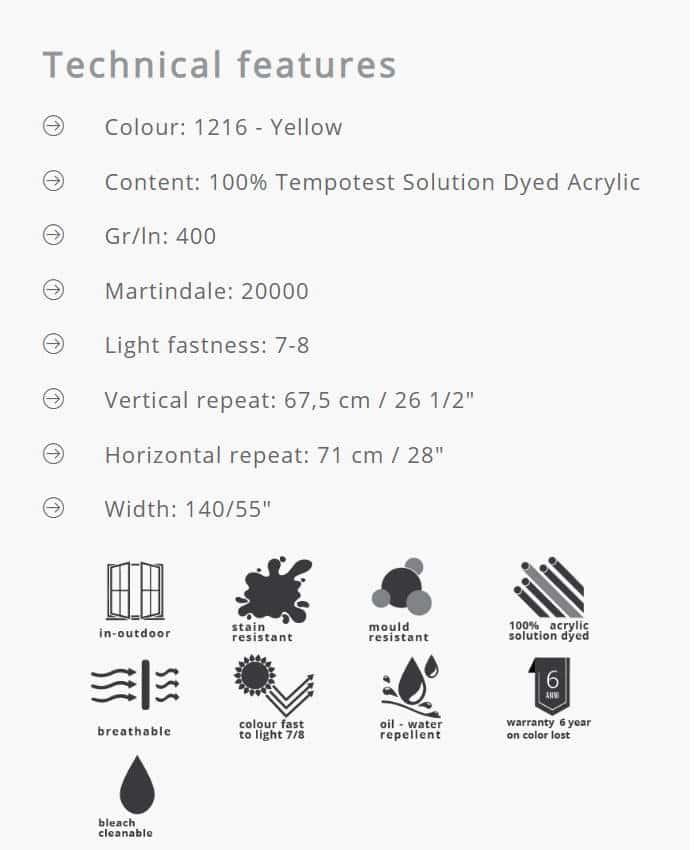 Outdoorstoffe MariaFlora - Erice 1216 Info