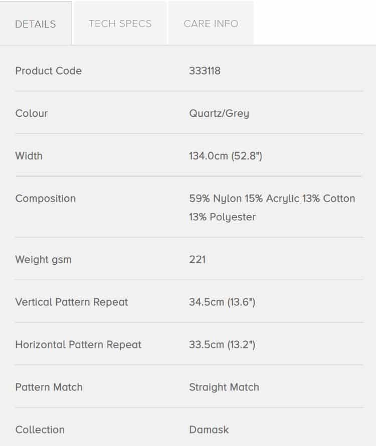 Bezugsstoffe gemustert Crivelli Weave 333118 Zoffany Info