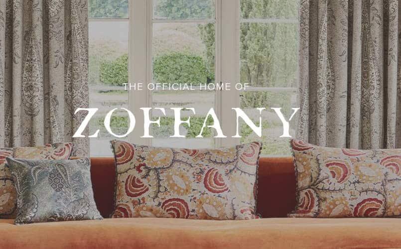 Dekostoffe kaufen von Zoffany Homepage