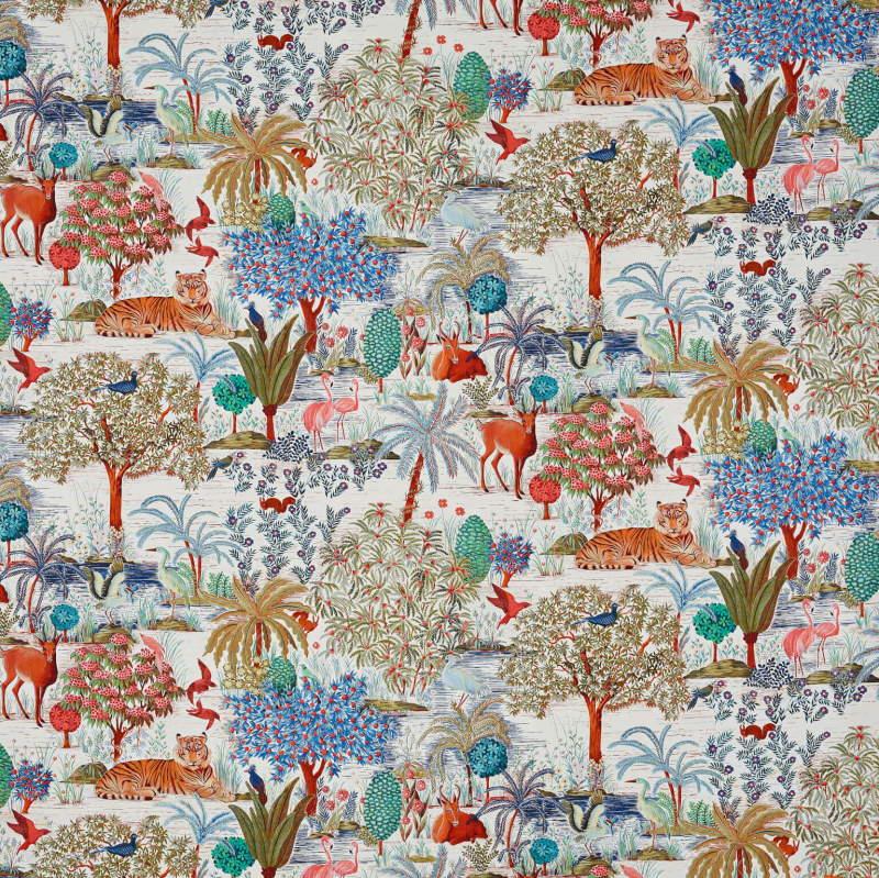 Vorhangstoff-gemustert F3469001 Le jardin du palais Pierre Frey