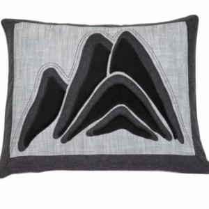 Alpines Kissen Serles 170 grau