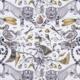 Bezugsstoff-gemustert-Shipley-Exctinct Gold F1109-02 Clarke-Clarke