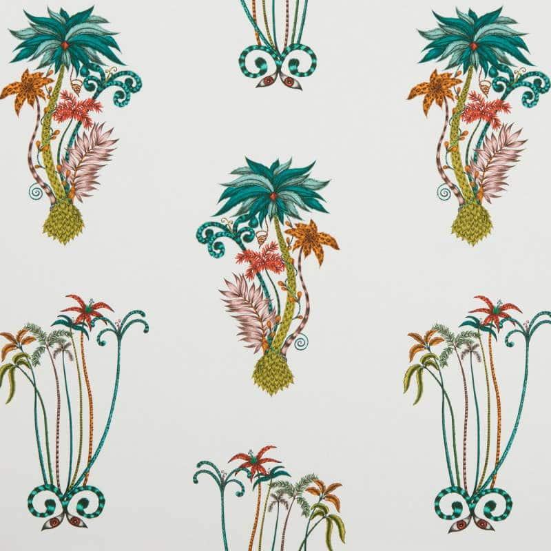 Bezugsstoff-gemustert-Shipley-Jungle Palms Jungle F1110-02 Clarke-Clarke
