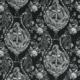 Bezugsstoff-gemustert-Shipley-Silverback Black F1486-01 Clarke-Clarke