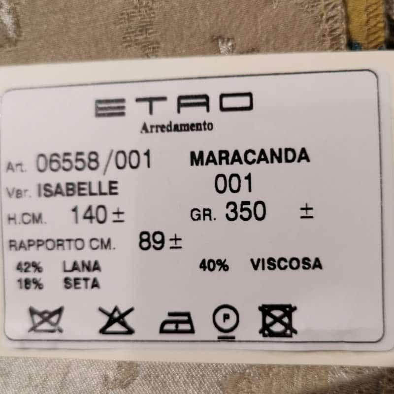 Bezugsstoffe gemustert Maracanda 6558-1 01 Isabelle Etro-Stoffe Info