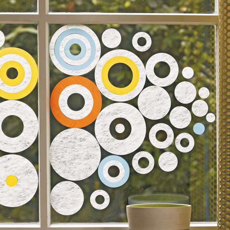 Hafttextil Gecko-in-der-Box Bubbles Creation Baumann