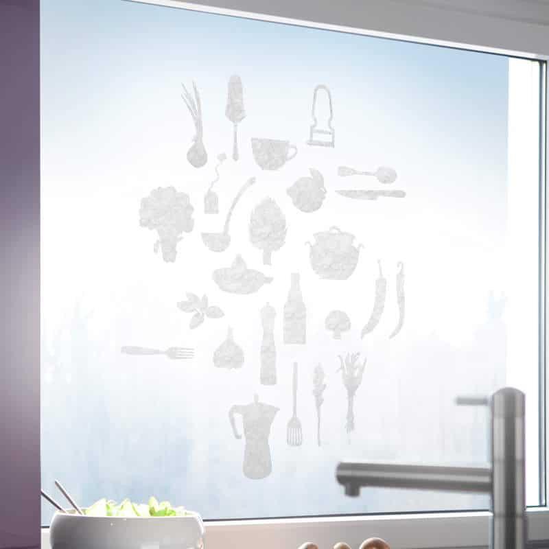 Hafttextil Gecko-in-der-Box Cucina Creation Baumann