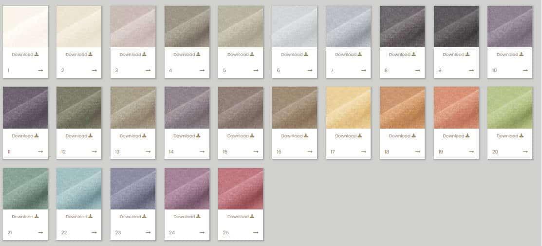Vorhangstoff Uni Mandrage 290cm Kobe Interior Fabrics 3917-21 Farben