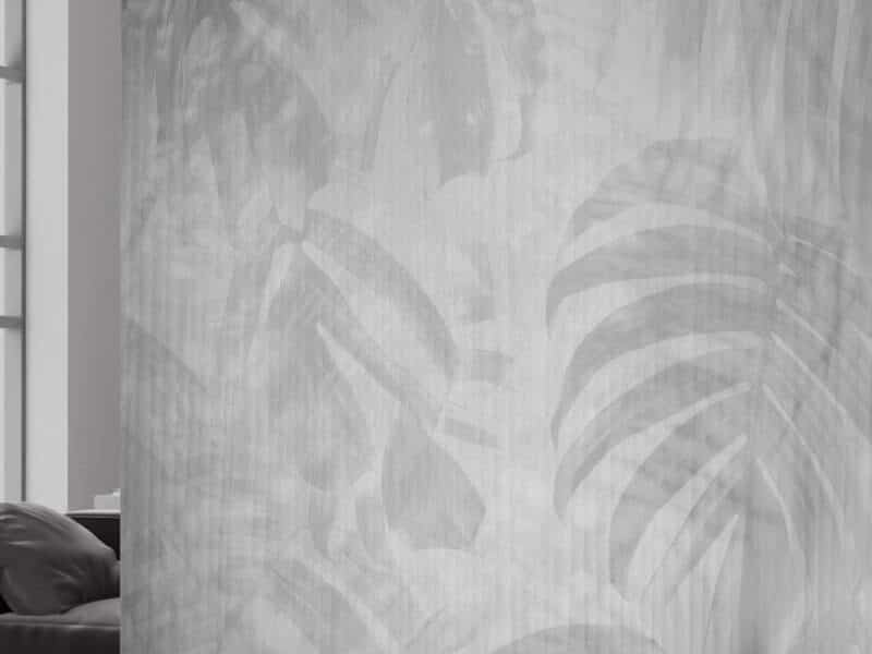 Marmortapete mit echtem Marmor - Design Black White