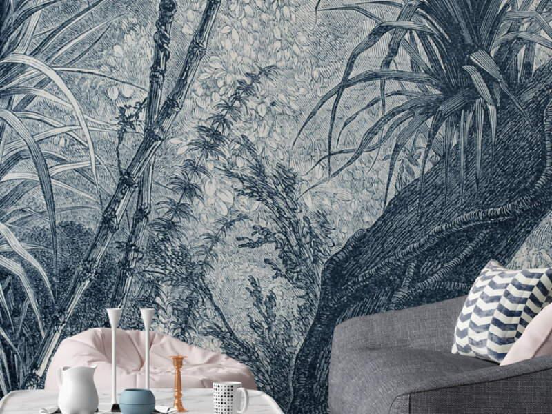 Marmortapete mit echtem Marmor - Design Landscape