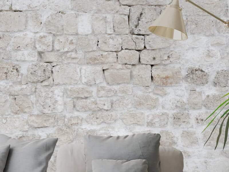 Marmortapete mit echtem Marmor - Design Materic