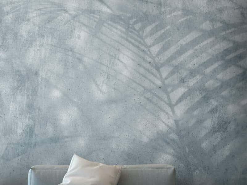 Marmortapete mit echtem Marmor - Design Tropical