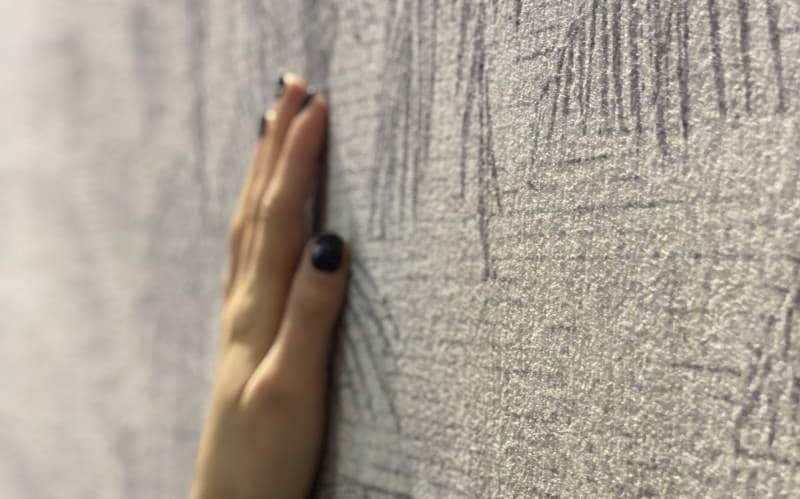 Marmortapete mit echtem Marmor - Oberfläche spüren