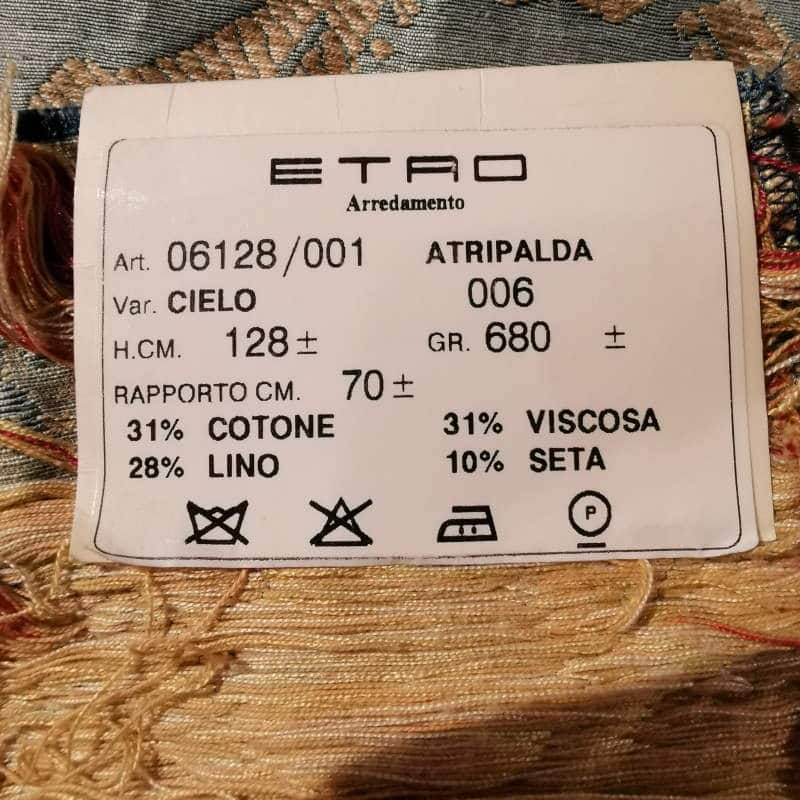 Bezugsstoffe gemustert Atripalda 6128-6 Cielo Etro-Stoffe Info