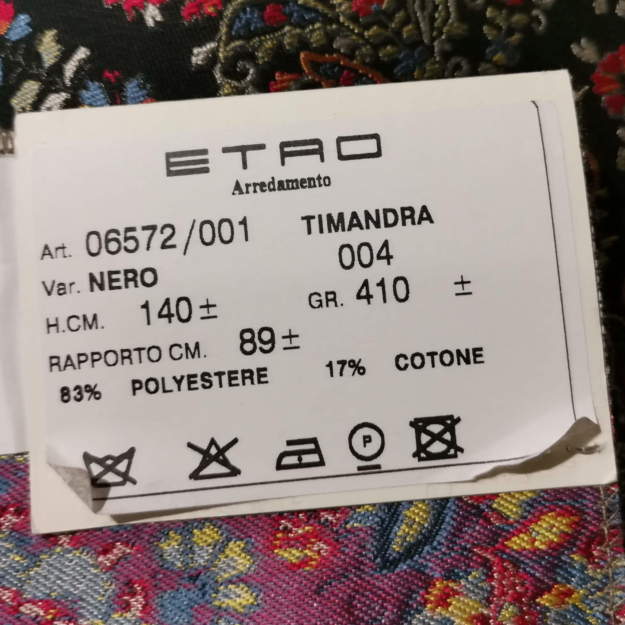 Bezugsstoffe gemustert Timandra 6572-1 Rubino Etro-Stoffe Info